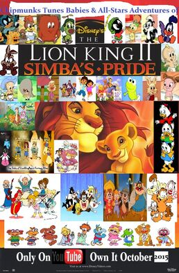 Chipmunks Tunes Babies & All-Stars' Adventures of The Lion King 2 Simba's Pride