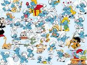 All smurfs cartoon