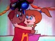 Alvin & Brittany Hugging