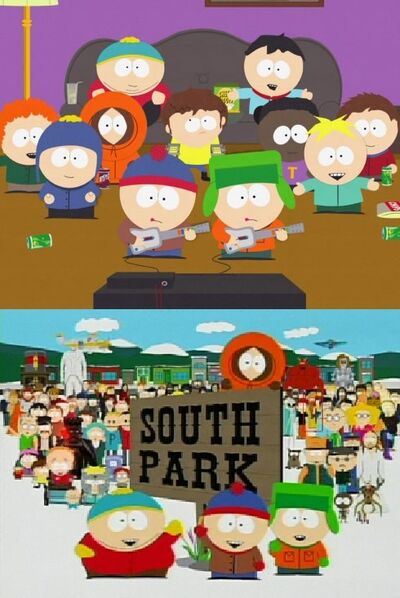 The South Park Gang