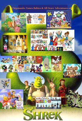 Chipmunks Tunes Babies & All-Stars' Adventures of Shrek