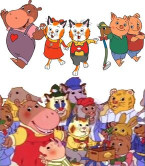 The Busytown Gang