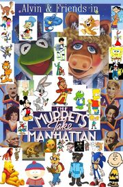 Alvin & Friends in The Muppets Take Manhattan