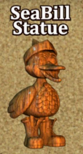 SeaBill Statue