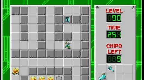 CCLP2 level 90 solution - 204 seconds