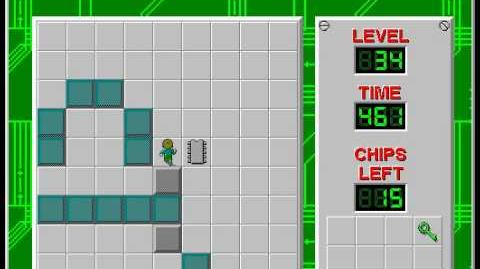 CCLP2 level 34 solution - 404 seconds