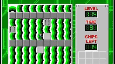 CCLP2 level 114 solution - 81 seconds