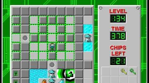 CCLP2 level 134 solution - 361 seconds