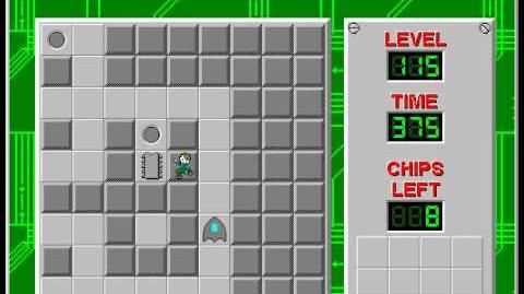 CCLP2 level 115 solution - 353 seconds