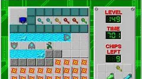 Chip's Challenge - TomP3 Lvl 149 (Last Level)