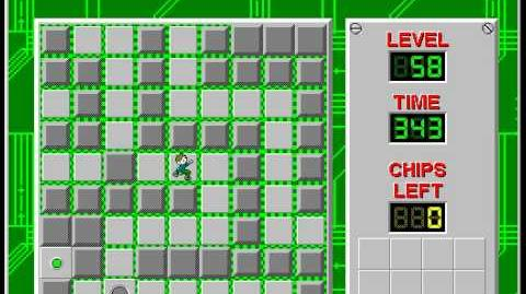 CCLP2 level 58 solution - 301 seconds