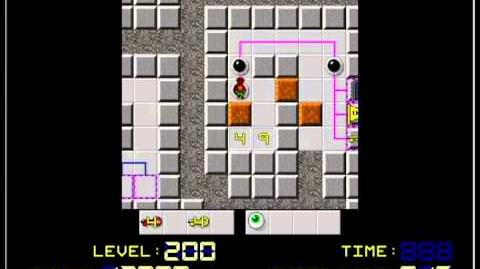 Chip's Challenge 2 Crazy II (LAST LEVEL) scorerun 3,892,100 points-0