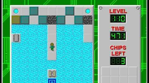 CCLP2 level 110 solution - 456 seconds