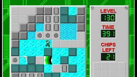 CCLP2 level 130 solution - 385 seconds