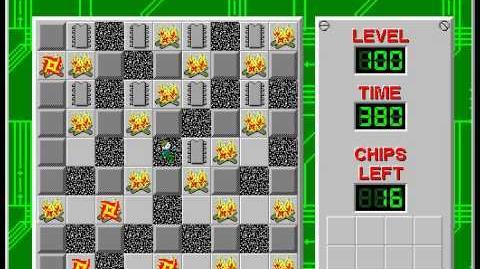 CCLP2 level 100 solution - 345 seconds