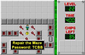 CCLP1 Level 22