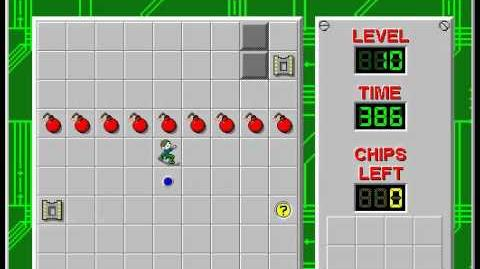 CCLP2 level 10 solution - 368 seconds