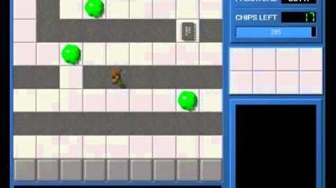 CCLP1 level 18 solution - 264 seconds