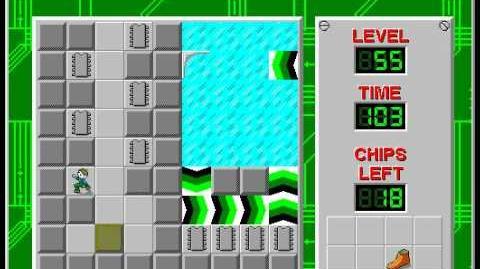 CCLP2 level 55 solution - 78 seconds