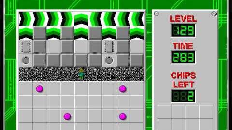 CCLP1 level 129 solution - 272 seconds