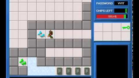 CCLP1 level 137 solution - 179 seconds