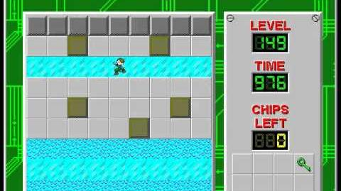Chip's Challenge 1 level 149 solution - 955 seconds