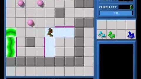 CCLP1 level 11 solution - 226 seconds