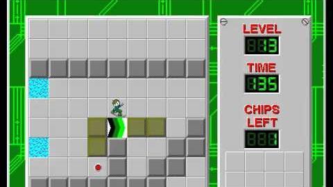 CCLP3 level 13 solution - 107 seconds