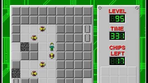 CCLP2 level 95 solution - 314 seconds