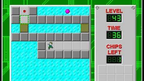 CCLP2 level 43 solution - 19 seconds