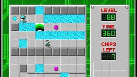 CCLP2 level 88 solution - 317 seconds