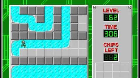 CCLP2 level 62 solution - 256 seconds