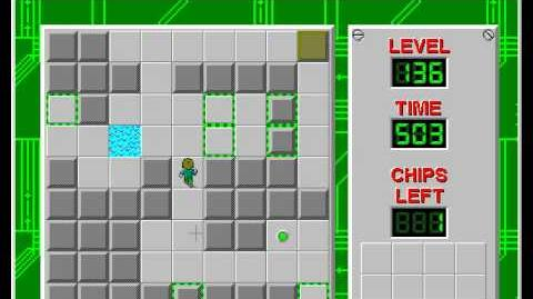 CCLP2 level 136 solution - 423 seconds
