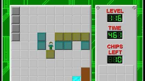 CCLP2 level 116 solution - 425 seconds