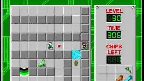 CCLP2 level 30 solution - 246 seconds