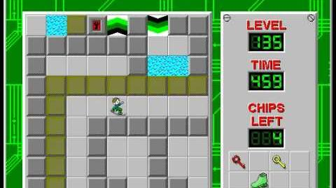 CCLP2 level 135 solution - 402 seconds