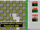 Antidisruptive Caves