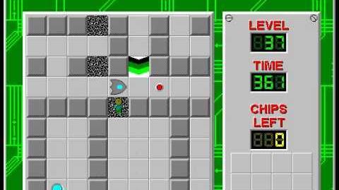 CCLP2 level 37 solution - 322 seconds