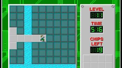 CCLP3 level 11 solution - 448 seconds