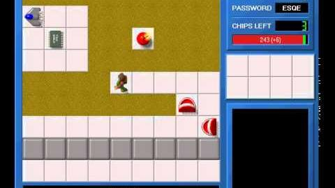 CCLP1 level 39 solution - 237 seconds