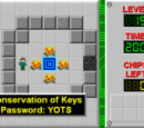 Conservation of Keys