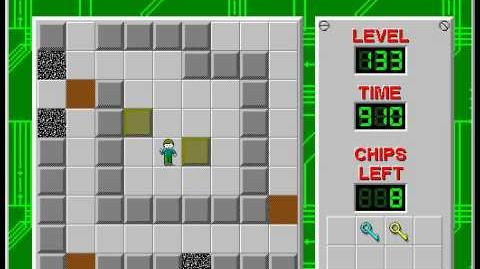 CCLP2 level 133 solution - 832 seconds