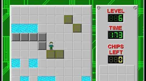 CCLP2 level 6 solution - 163 seconds