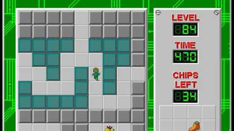 CCLP2 level 84 solution - 426 seconds