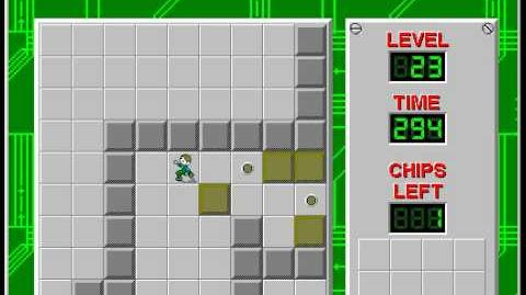 CCLP2 level 23 solution - 254 seconds