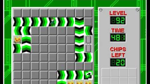 CCLP2 level 92 solution - 459 seconds