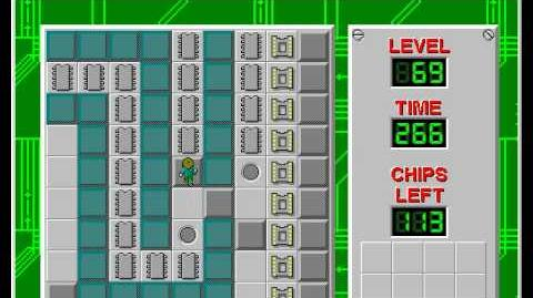 CCLP2 level 69 solution - 238 seconds