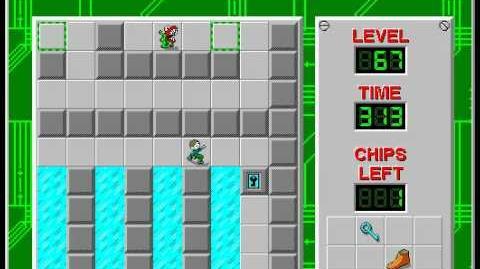 CCLP2 level 67 solution - 255 seconds