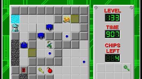 CCLP3 level 133 solution - 826 seconds