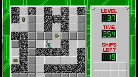 CCLP1 level 37 solution - 331 seconds